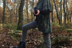 Lasergame feestje in het bos