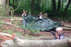 Kinderfeestje in park Klarenbeek